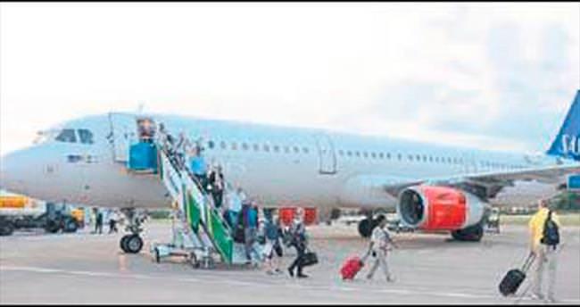 Gazipaşa-Alanya Airbus'ı da gördü