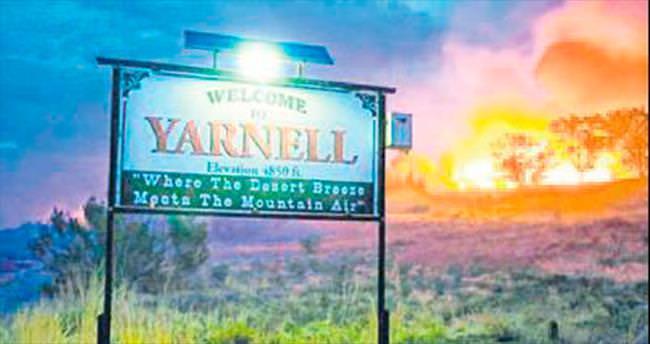 Arizona yangını sinemaya aktarılıyor