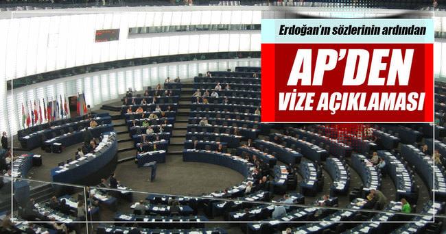 AP'den vize muafiyeti açıklaması
