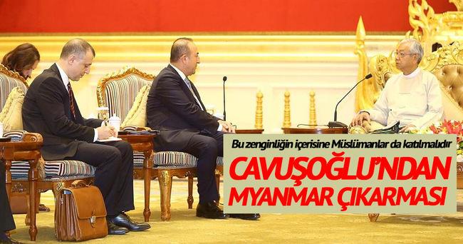 """""""Myanmar'a insani yardıma devam edeceğiz"""""""