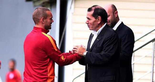 İşte Galatasaray'da Sneijder'e kesilen ceza