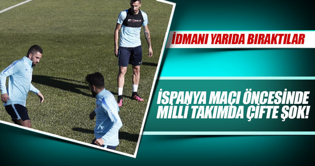 Milli Takım'da Mehmet Topal ve Gökhan Gönül şoku!