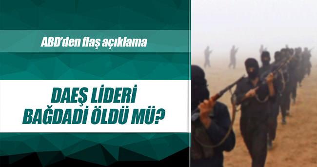 IŞİD lideri Bağdadi öldü mü?