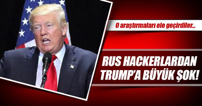 Rus hackerlardan Trump'a şok!