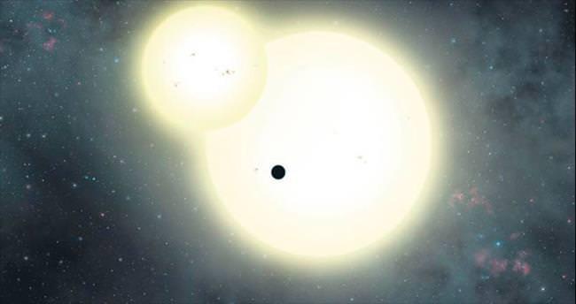 İki güneşli en büyük gezegen bulundu