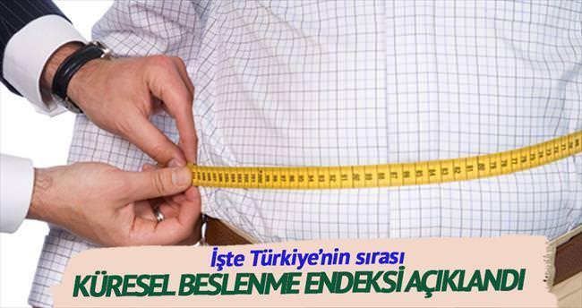 Türkiye obezitede 22'nci sırada