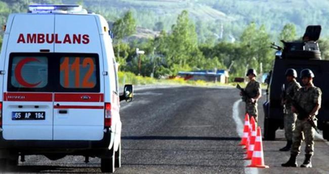 Van'da terör saldırısı: 6 polis yaralı