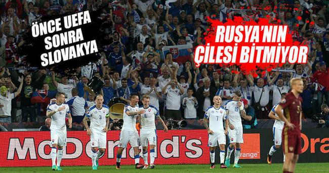 Slovakya, Rusya'ya şans tanımadı
