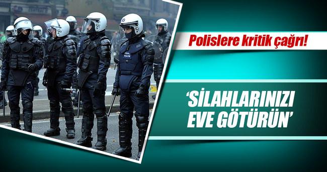 Belçikalı polislere 'silahlarınızı eve götürün' tavsiyesi!