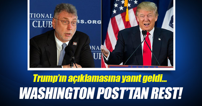Washington Post'tan Trump'a rest!