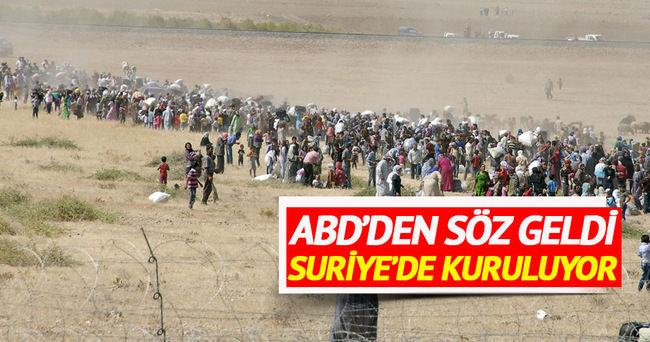 Suriye'de 'güvenli bölge' kurulacak