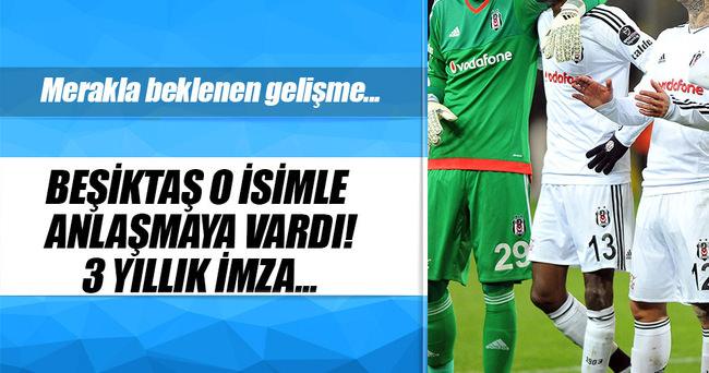 Beşiktaş'ta Tolga ile anlaşma tamam!