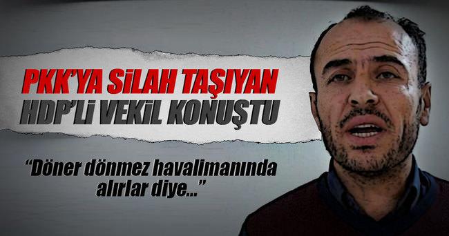 HDP'li kaçak vekil Faysal Sarıyıldız konuştu