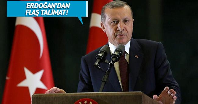 Erdoğan'dan o ilçe için flaş talimat!