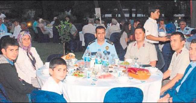 Gaziler ile Şehit aileleri unutulmadı