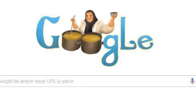 Google'dan Adile Naşit için doodle