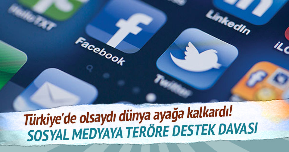 Sosyal medyaya teröre destek davası
