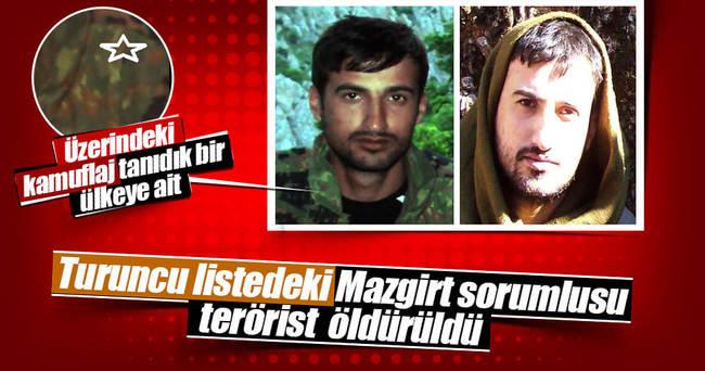 Tunceli'de öldürülen terörist turuncu listedeymiş!