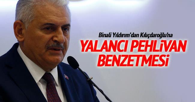 Yıldırım'dan Kılıçdaroğlu'na 'Yalancı Pehlivan' benzetmesi