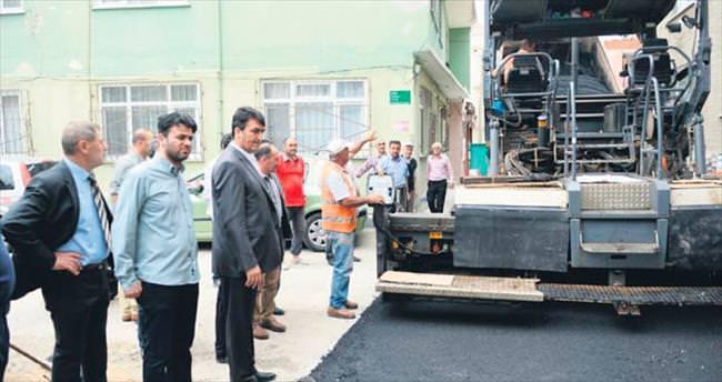Osmangazi'den 20 milyonluk asfaltlama