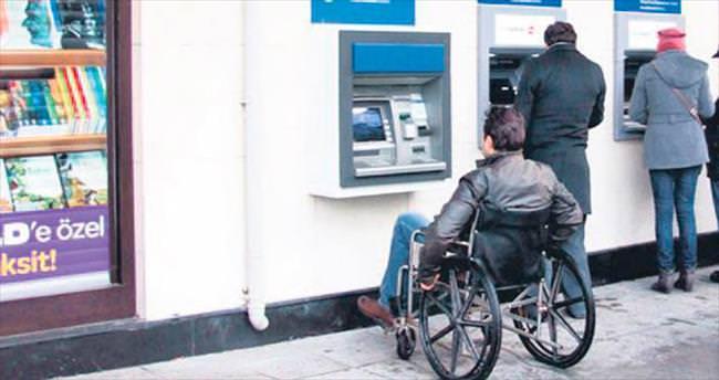 Engelsiz ATM'ler geliyor