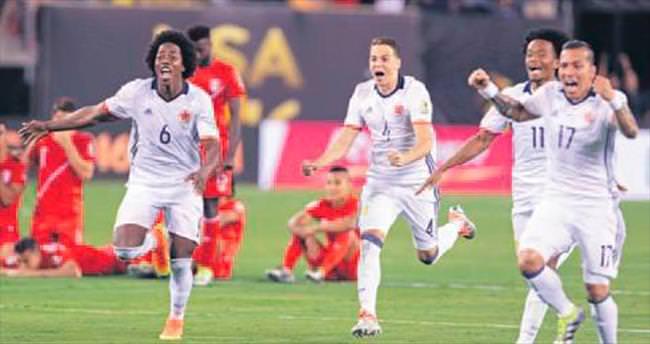 Kolombiya penaltılarla