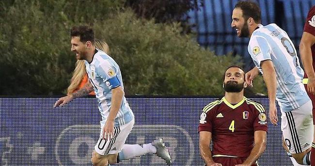 Arjantin adım adım kupaya