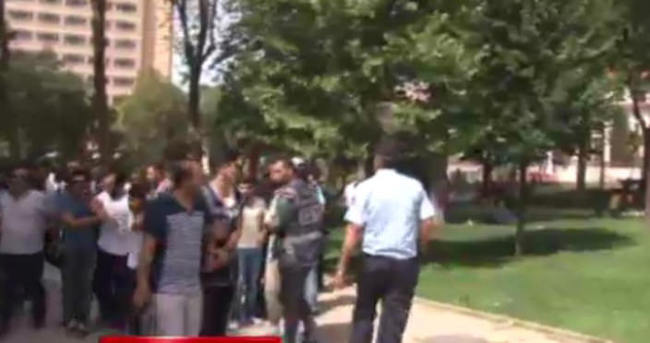 Taksim'de LGBTİ gerginliği
