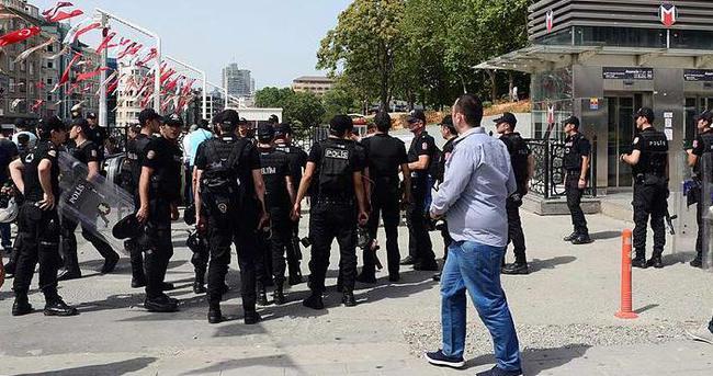 LGBTİ üyelerine, polis ekipleri müdahale etti