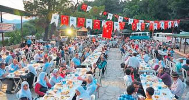 Seydikemer'de seri iftarlar start alıyor