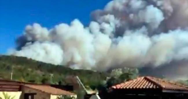 Kıbrıs Rum kesimi de yandı