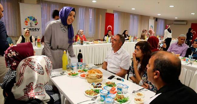 TÜRGEV terörzede öğrencilere iftar verdi