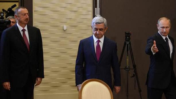 Putin, Aliyev ve Sarkisyan bir araya gelecek