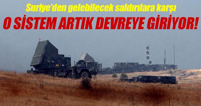 NATO hava savunma sistemi devreye giriyor!