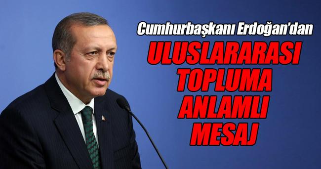 Erdoğan'dan 'Dünya Mülteciler Günü' mesajı!
