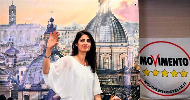 Yollara kızdı, Roma'nın ilk kadın başkanı oldu