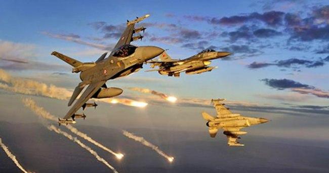 PKK'ya bomba yağdı