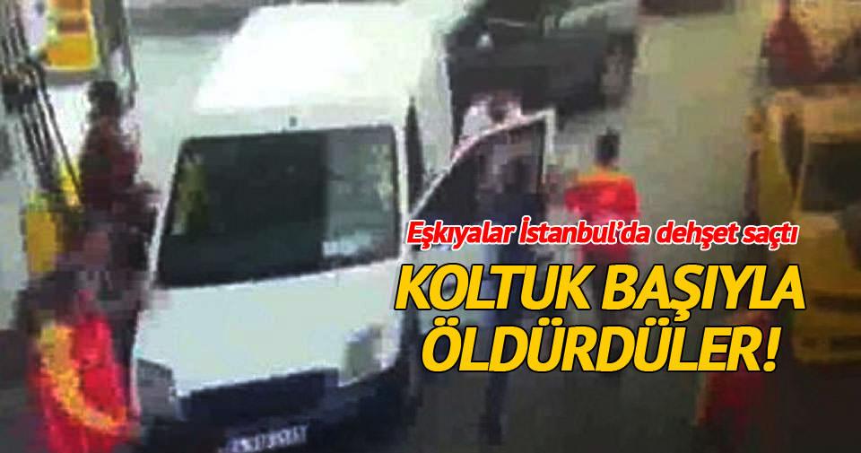 İstanbul'daki yol verme cinayeti kamerada