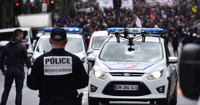 Fransız polisi grev ve protestolardan yorgun düştü