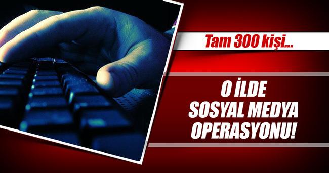 300 kişiye sosyal medyadan terör ve hakaret soruşturması!