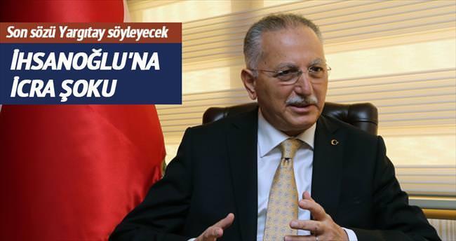 İhsanoğlu'na seçim kampanyası icrası