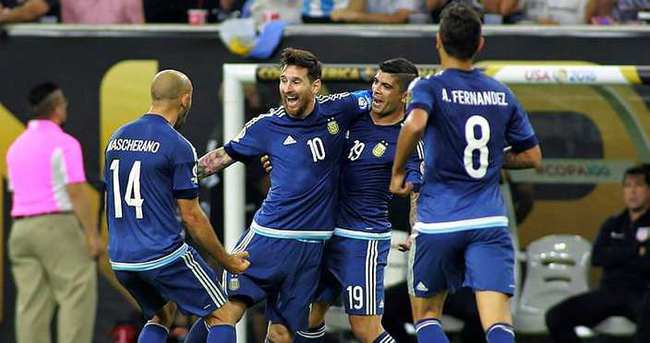 Arjantin finale, Messi zirveye