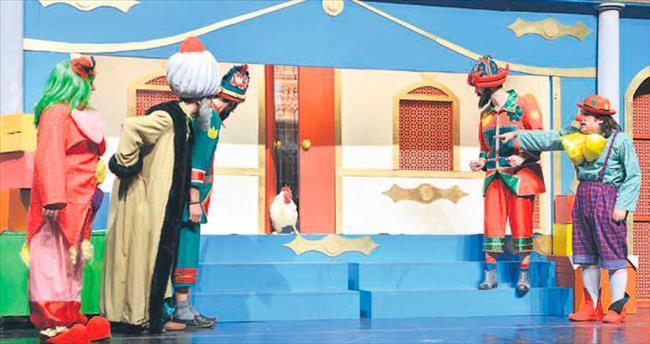 Çocukların tiyatro sevgisi