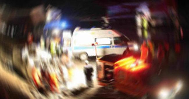 Küçükçekmece'de trafik kazası: 2 yaralı