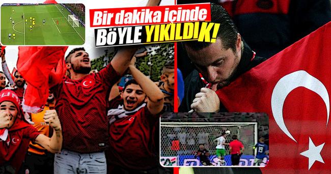 İşte Türkiye'nin EURO 2016 hikayesini bitiren o gol!