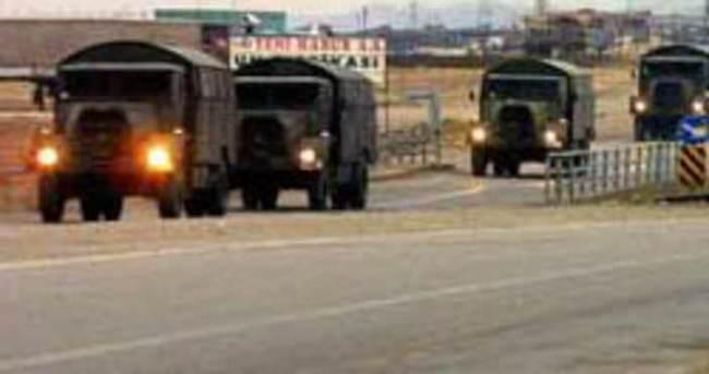 Hakkari Şemdinli'de askeri araca roketatarlı saldırı
