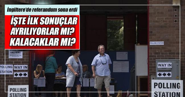 İngiltere'de oylar sayılmaya başlandı!