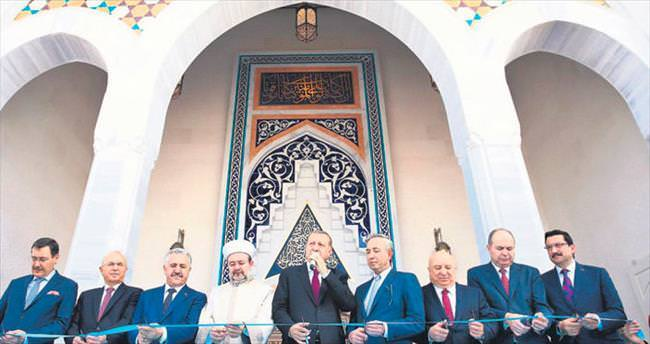 Yıldırım Bayezid Camisi açıldı