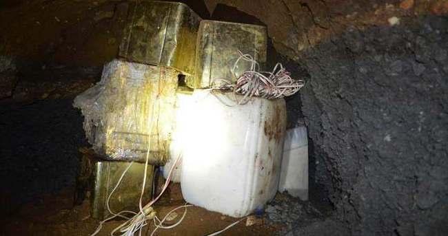 Tatvan - Van arasında menfez altına 1 ton bomba yerleştirilmiş