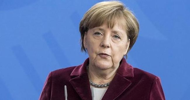 Merkel: Dünya büyük bir huzursuzluk yaşıyor